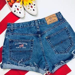 iDeal VTG 90s Polo High-Waisted Shorts